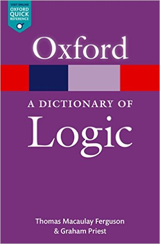 A Dictionary of Logic